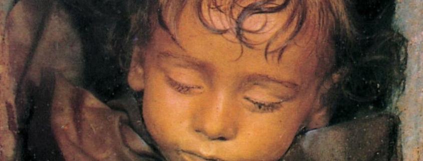 Rosalia Lombardo, the blinking mummy of the Capuchin catacombs