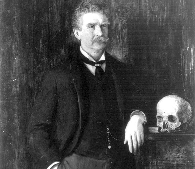 American author and journalist Ambrose Bierce