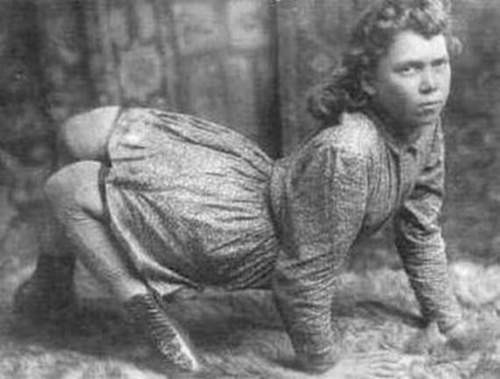 Ella Harper was known in the sideshow as The Camel Girl