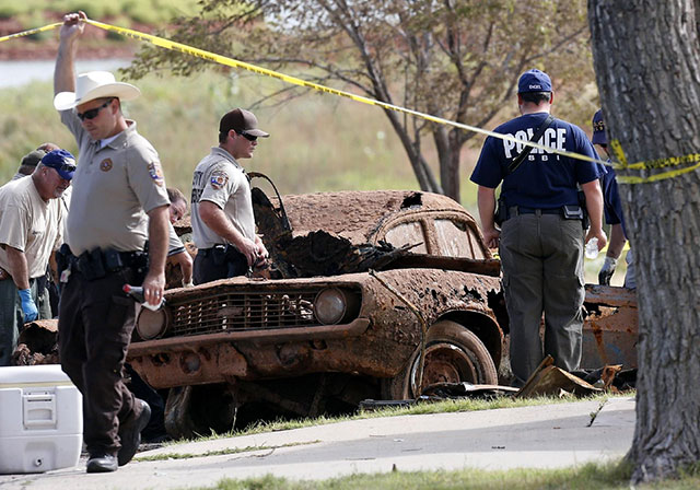 DNA confirms the identities of six bodies found in Oklahoma's Foss Lake