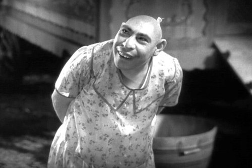 Schlitzie the pinhead circus freak