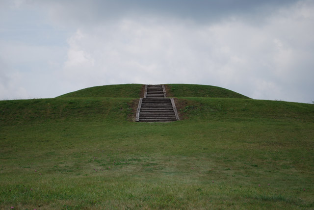 Aztalan mound in Wisconsin