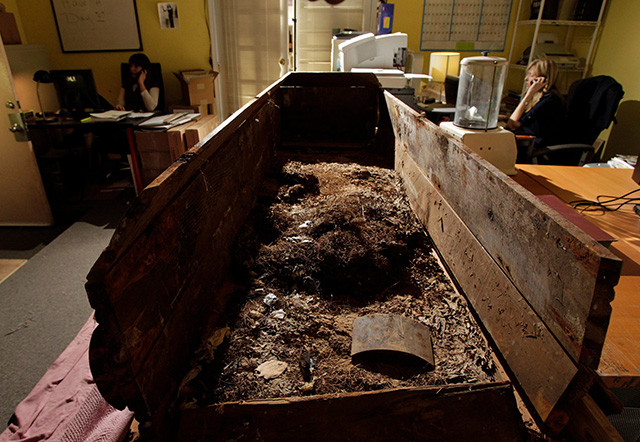 The coffin of JFK assassin Lee Harvey Oswald is the subject of a case being heard in a Texas Court