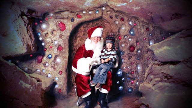 Scuba Claus, Cave Santa and other weird ways to visit the jolly man for Christmas