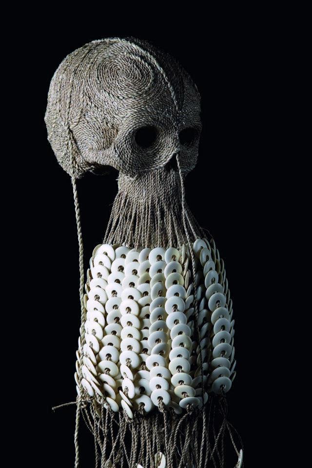 Human skull art by Jim Skull