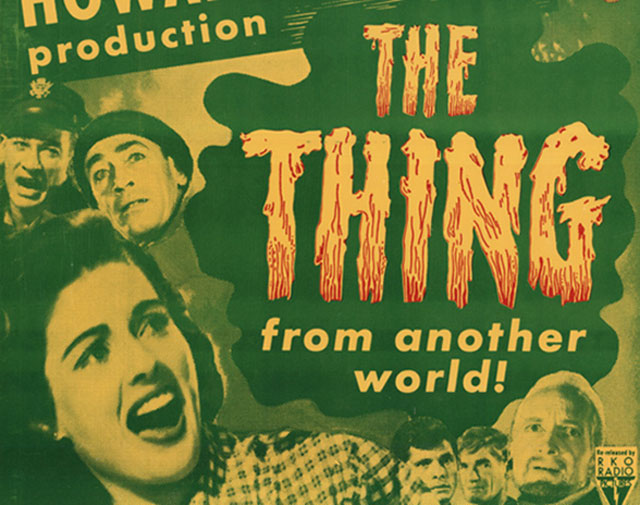 Warminster UFO sighting inspired the 1951 film The Thing