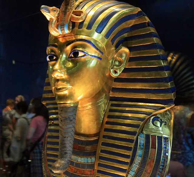 King Tut's burial mask has been irreversibly damaged
