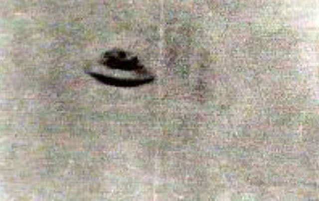 The Thing Warminster UFO photo