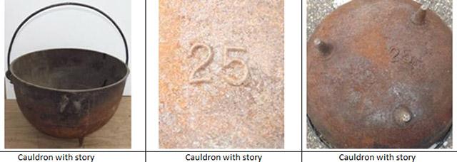 Ed Gein's cauldron