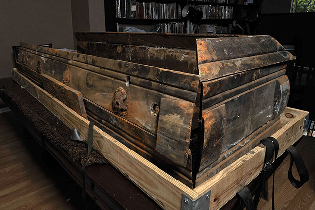 The rotting coffin of JFK assassin Lee Harvey Oswald