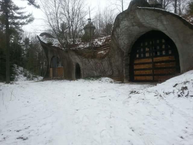 Mushroom House in Door County Wisconsin is for sale