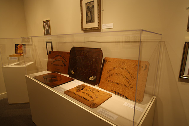 Traveling Ouija talking board museum