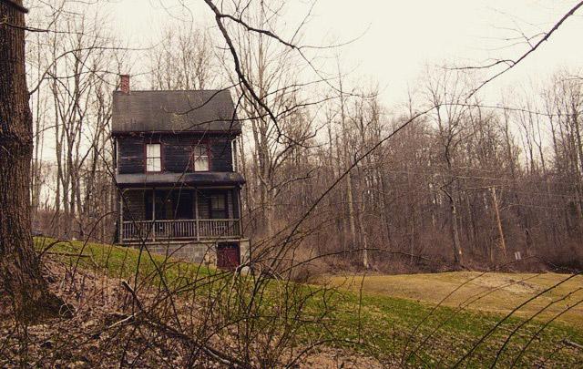 The Nelson Rehmeyer hex murder house in York County, Pennsylvania