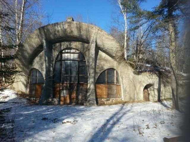 The Door County Mushroom House in Wisconsin is for sale