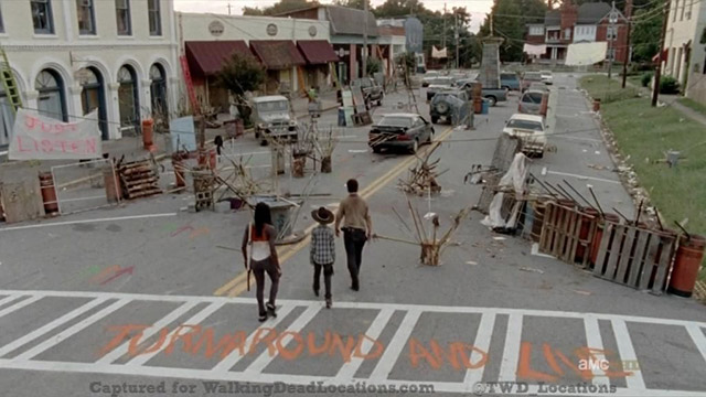 Walking Dead filmed in Grantville, Georgia