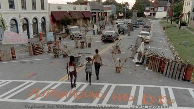 Walking Dead filmed in Grantville, Georgia