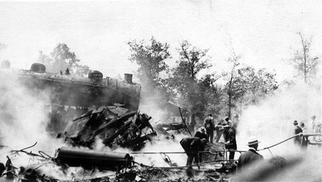 The Hammond circus train wreck killed 86 members of the Hagenbeck-Wallace Circus in 1918