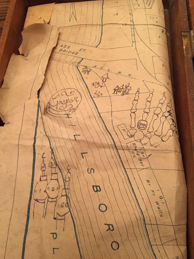 Hillsborough River map may show location of hidden pirate treasure