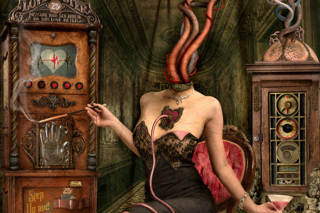 Miss Heady L'Amour from the Rough & Ready Sideshow series