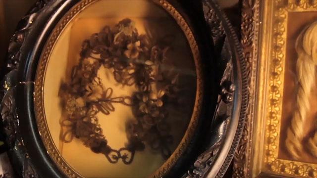 Victorian hair work