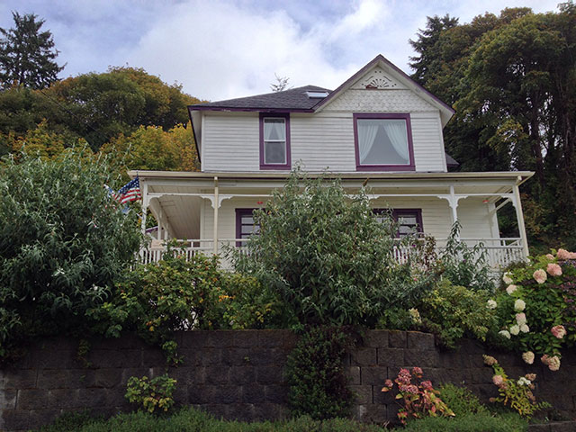 Mikey's house from the 1980s cult film The Goonies in Astoria, Oregon