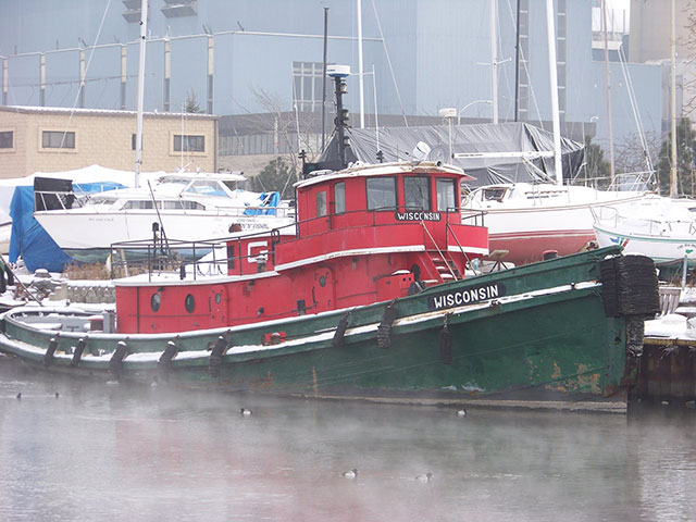Haunted Tugboat in Milwaukee