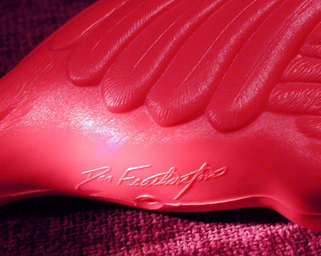 Don Featherstone flamingo signature