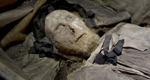 Mummified remains of Peder Winstrup