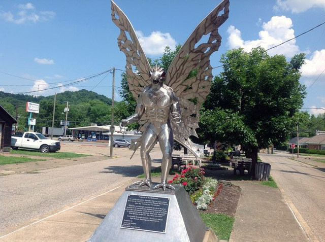 Point Pleasant Mothman statue