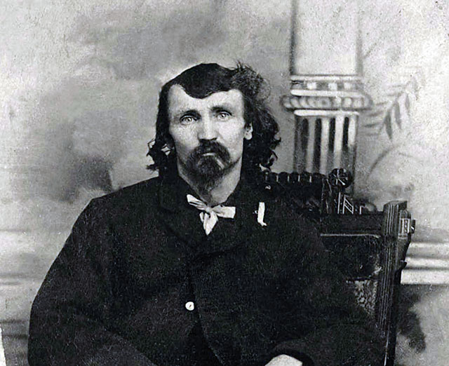Man-eater Alfred Packer, the first American cannibal