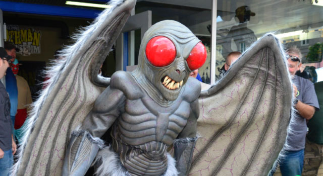 Mothman sighting at the annual festival in Point Pleasant