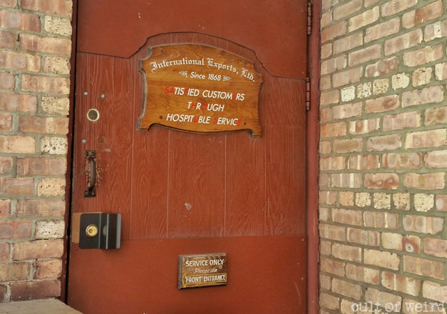 Entrance to the Safe House