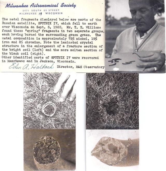 Sputnik IV crash debris found in Wisconsin