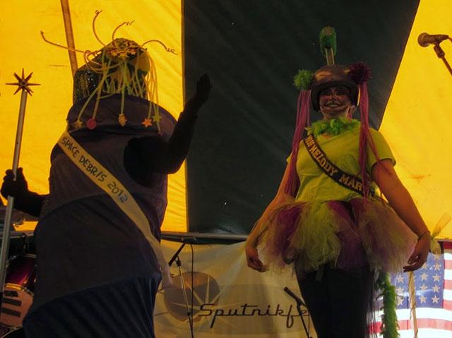 Miss Space Debris contest at Sputnikfest
