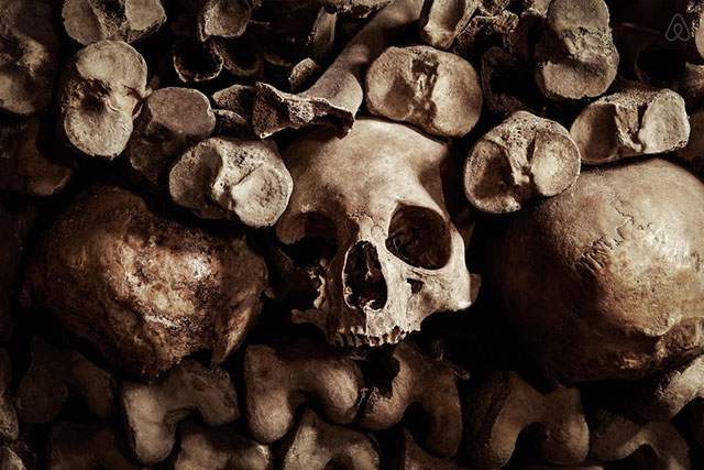 6 million dead in the catacombs beneath Paris