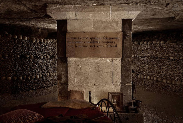 Can you make it through the night in the catacombs?