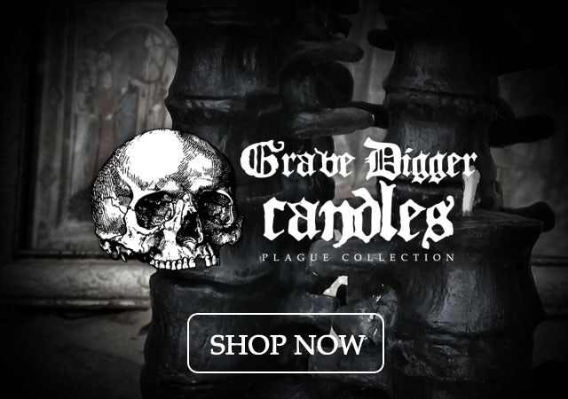 Black spine candles