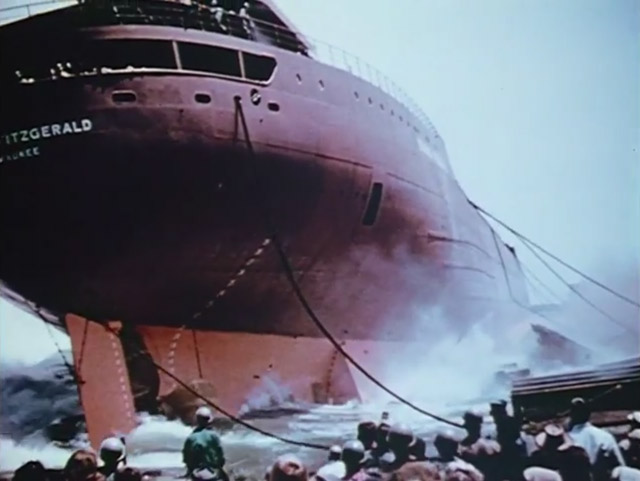 Launch of the Edmund Fitzgerald