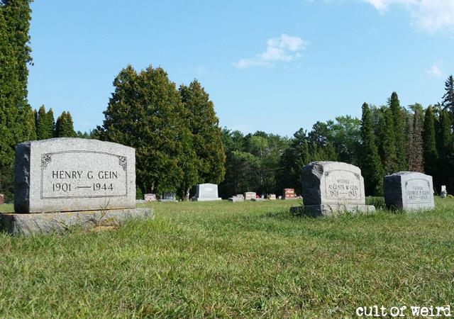 Ed Gein grave