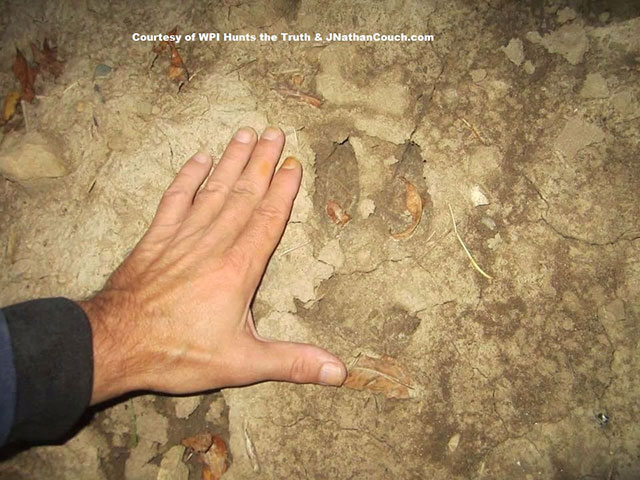 Goatman hoof print found in Wisconsin