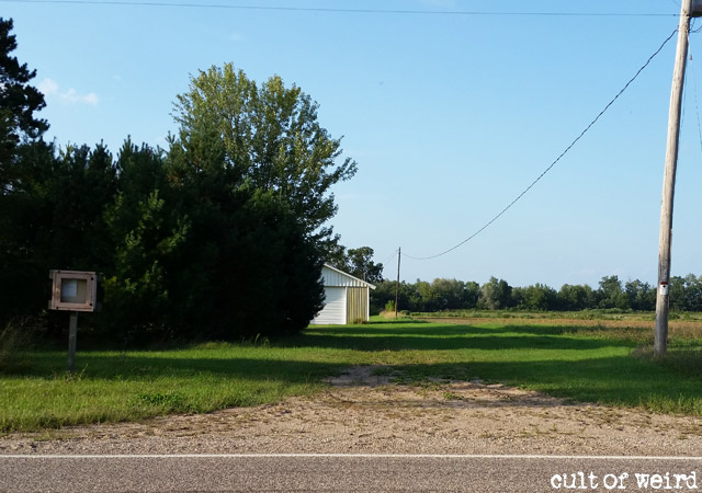 The property where Mary Hogan's tavern once stood