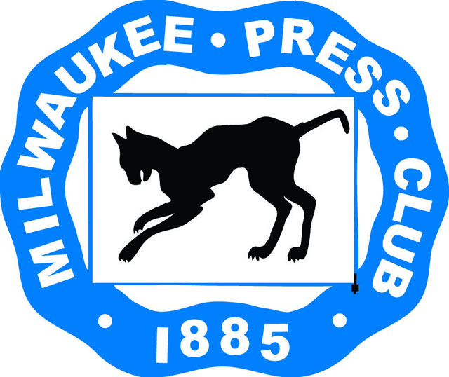 Milwaukee Press Club mummified cat logo