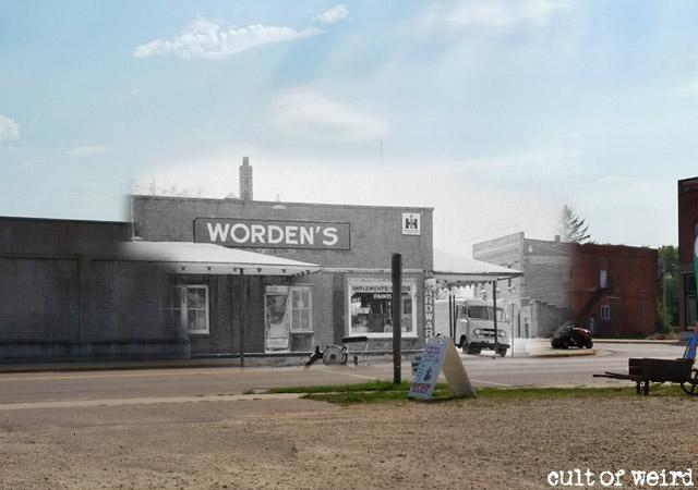 Worden's Hardware store in Plainfield, Wisconsin