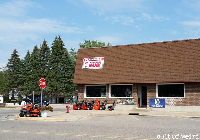 Worden's Hardware store in Plainfield, WI