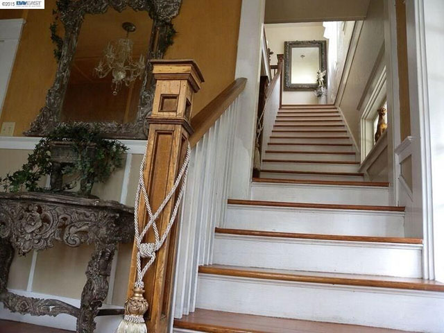 Haunted stairway