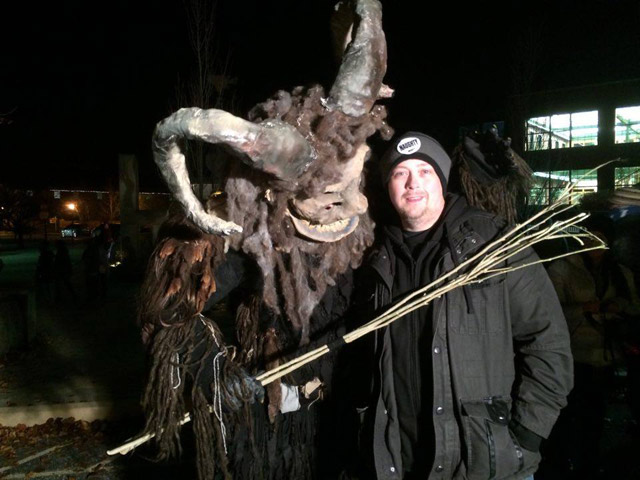 Krampus Night in Bloomington, Indiana