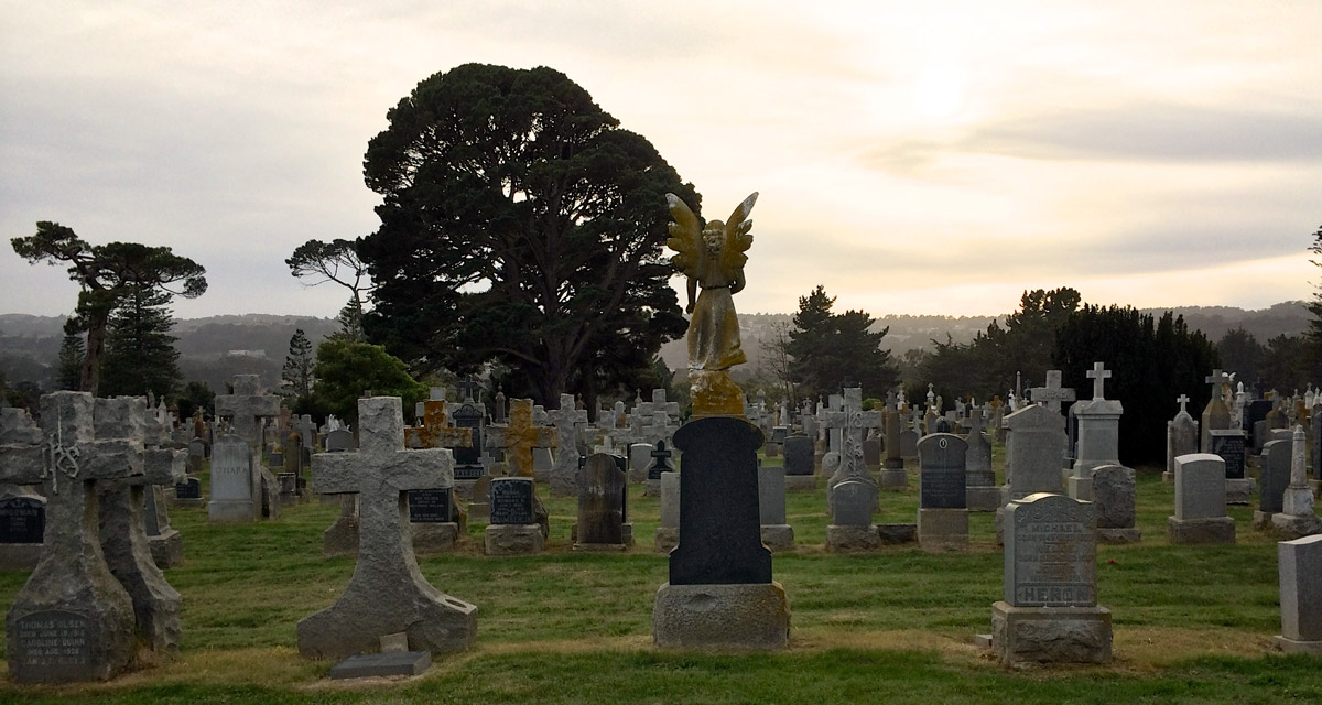 Colma, California's town of the dead