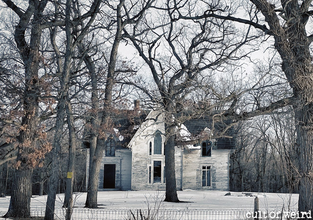 Abandoned and haunted Witherell House in Fond du Lac, WI