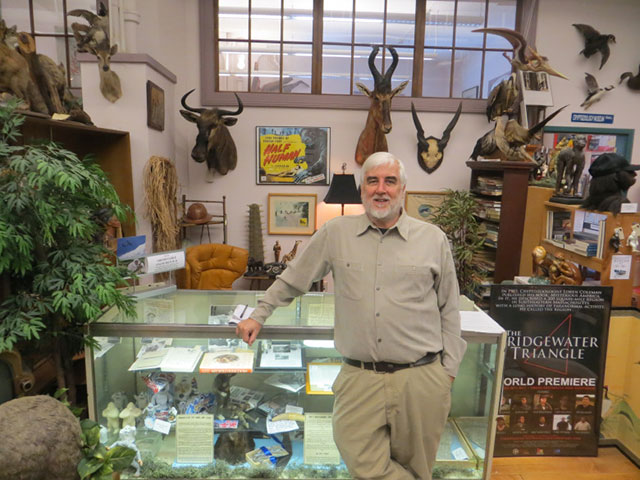Loren Coleman of the International Cryptozoology Museum