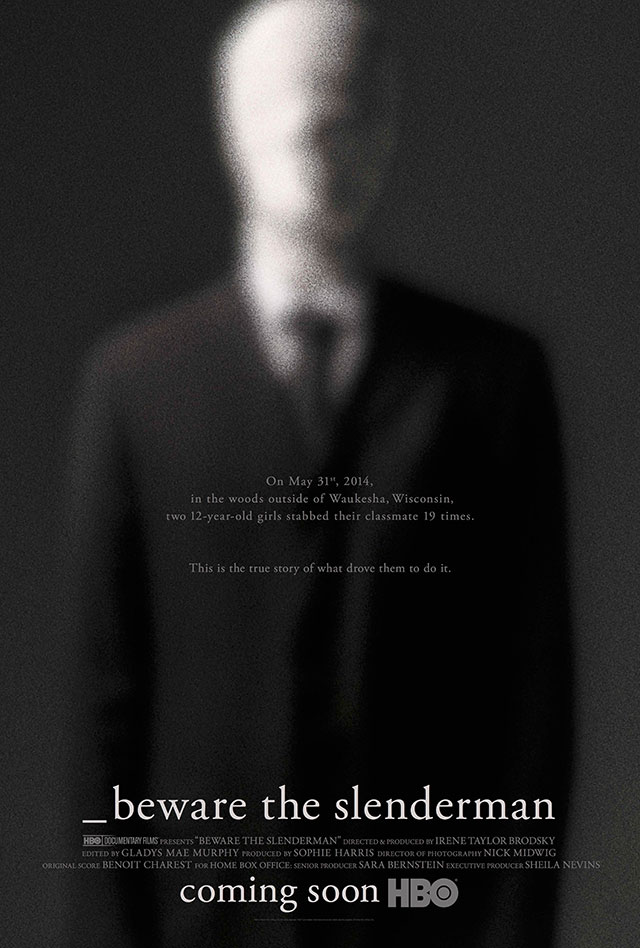 Poster art for the documentary Beware the Slenderman